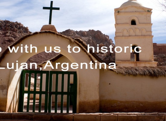 Old church of the town of Susques near the Andean mountains, Province of Jujuy, Argentina